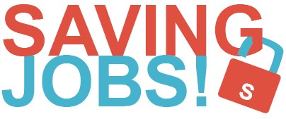 Saving Jobs Logo