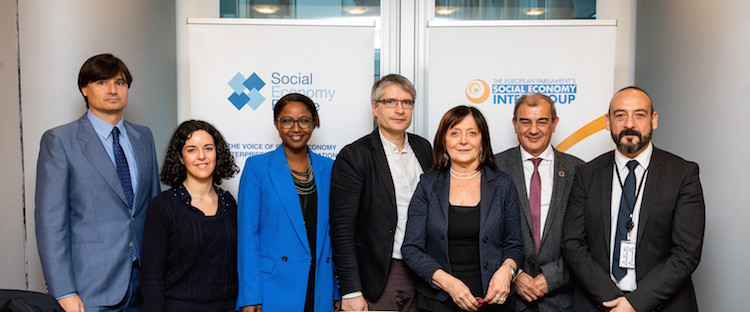 Constitutive meeting of the Social Economy Intergroup, Brussels